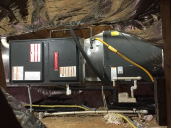 Goodman Brand High Efficiency Furnace Installation by Morris Heat and Air